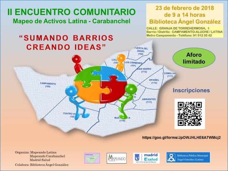 2.- CARTEL II ENCUENTRO COMUNITARIO DEFINITIVO