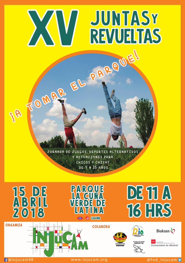 cartel juntas y revueltas 2018