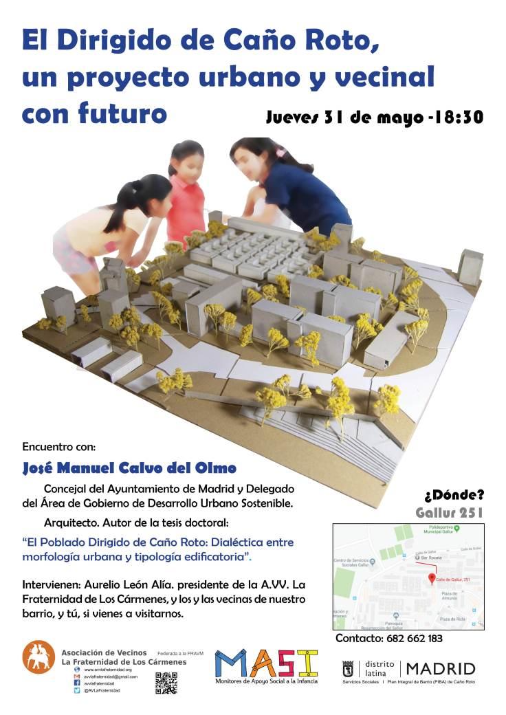 Cartel Encuentro Caño Roto 2018